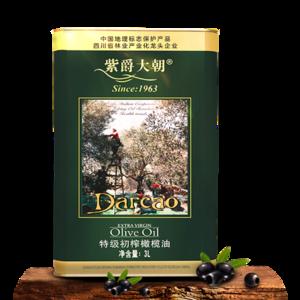 紫爵大朝 橄榄油特级初榨3L纯正品桶